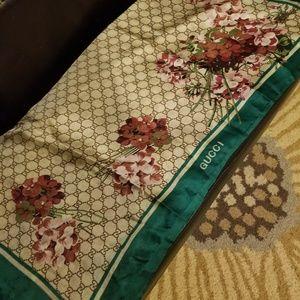 Gucci silk shawl
